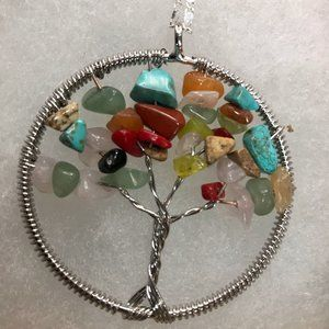 Jewelry - Round Tree of Life Necklace